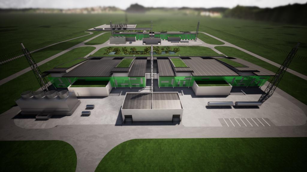 perspective de l'usine H2V NORMANDY